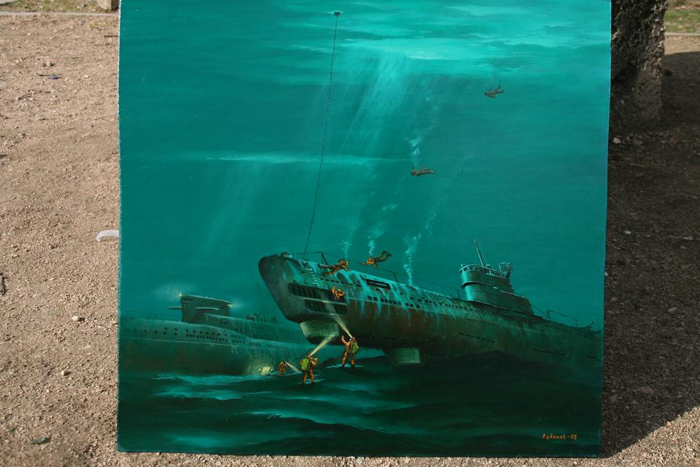 катастрофа подводной лодки в италии
